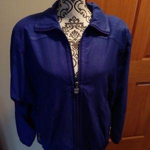 Royal blue vintage jacket